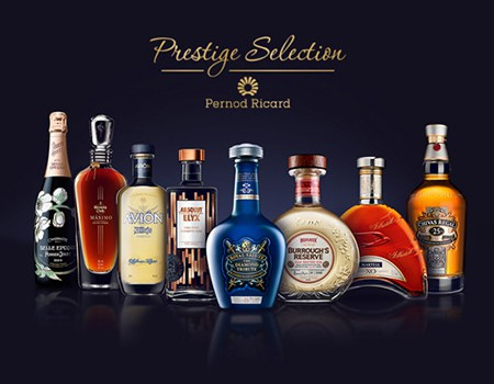 Pernod Ricard // Prestige Selection – Digital Platform