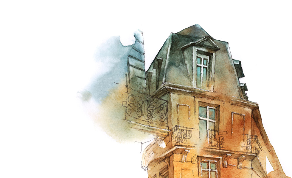 Lillet Illustration Urban Paris